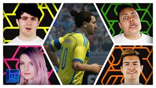 Fifa 16: 2v2 w/ MessYourself, MasterOV, SmallishBeans & LDShadowLady | Legends of Gaming