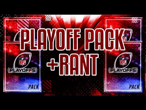 MADDEN MOBILE 17 2 PLAYOFF PACKS RANTING ABOUT THE GAME Madden Mobile 17