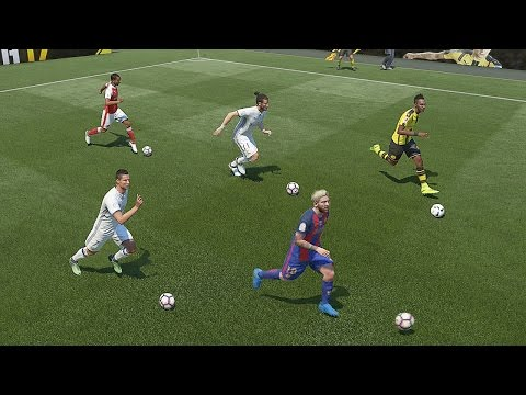 FIFA 17 Speed Test   Fastest Players In FIFA