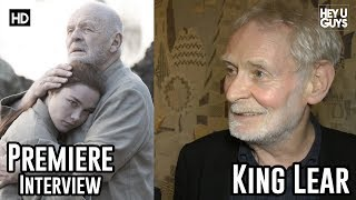 Karl Johnson talks about playing the fool for BBC's King Lear with Anthony Hopkins