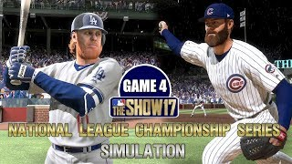 MLB The Show 17   Cubs vs Dodgers National League Championship Series Game 4 Simulation