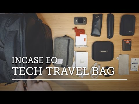 WHAT S IN MY TECH TRAVEL BAG — Incase EO Travel Backpack