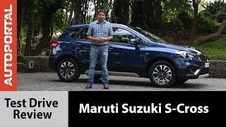2017 Maruti Suzuki S-Cross Test Drive Review   Autoportal