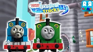 Thomas meet His Best Friends Percy | Thomas and Friends: Magical Tracks - Kids Train Set