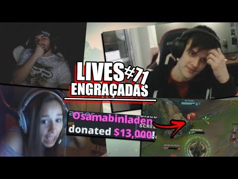 13MIL EM DONATE, KAMI PUTO COM LEE SIN & RAKIN NO OUTLAST 2 | LIVES ENGRAÇADAS #71