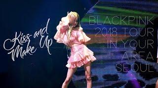 181111 블랙핑크 로제(BLACKPINK ROSÉ) IN YOUR AREA 콘서트 직캠 - Kiss and Make Up