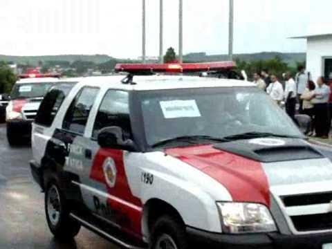 Viaturas 0km entregues a Polícia Militar