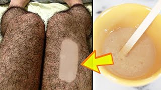 5 MINS CHALLENGE (REMOVE ALL UNWANTED HAIR FROM YOUR BODY) | Hair Removal At Home