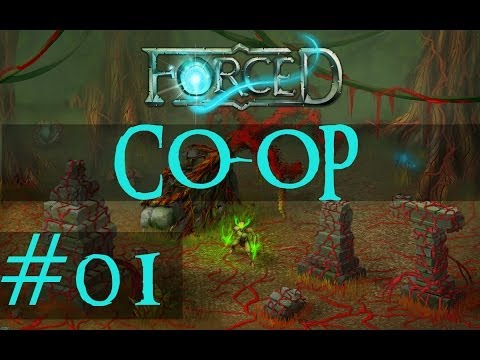 FORCED (Co-op) Walkthrough - #1 T.A.C.O.