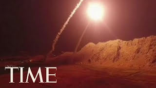 Iran Launched Missiles Into Syria As Retaliation For An Attack On A Military Parade | TIME