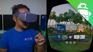 This is Google Daydream View