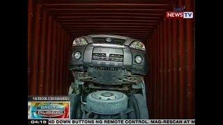 BP: SUV na tinangkang ipuslit kasama ng dump truck at mga piyesa, nasabat sa Davao City
