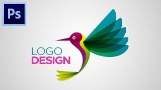 TUTORIAL HOW TO MAKE LOGO DESIGN #Adobe Photoshop CC
