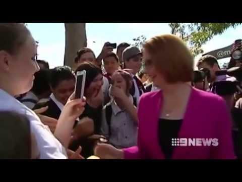 Politicians attacked: Vegemite sandwich thrown at Julia Gillard?