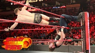 Dean Ambrose vs. The Miz - Intercontinental Title Match: WWE Great Balls of Fire 2017