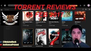 TORRENT MOVIE REVIEW 05 FEB 2017 (HJRR) Live Stream