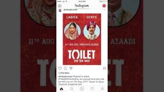   Toilet Ek prem gatha    Akshay kumar    Bhumi pandekar  