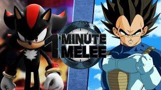 One Minute Melee - Shadow Vs Vegeta (Ft.TeamFourStar)