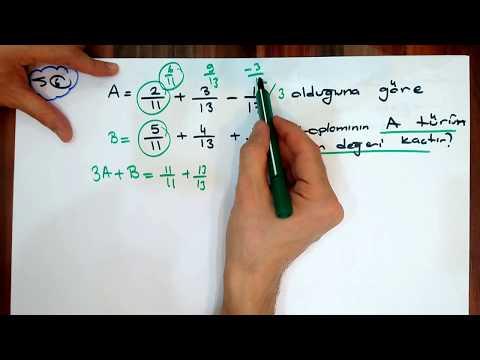 Matematik zor soru tipleri 3