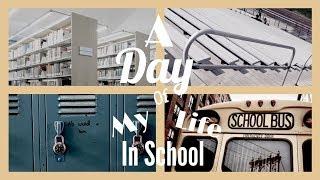 A DAY OF MY LIFE IN SCHOOL- NAKAKAHIYA!!! HAHAHAHAHA *black po lahat yung start kasi voice lang yan