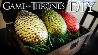Game of Thrones DRAGON EGGS DIY