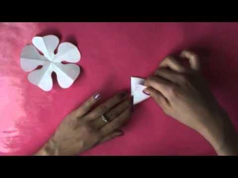 Cómo hacer flores de papel PERFECTAS