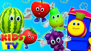 Fruits Song | Learning Street With Bob The Train  | Nursery Rhymes | Song For Toddlers by Kids Tv