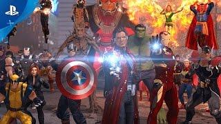 Marvel Heroes Omega - Announce Trailer | PS4