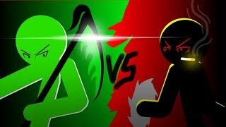 Joker VS Razor | RHG Battle #2 | Stick Nodes | Stickman