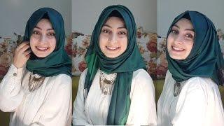 ŞAL BAĞLAMA  │ 3 Farklı stilde şal │ Yüz tipine uygun şal seçimi&Sohbet │  Hijab Tutorial