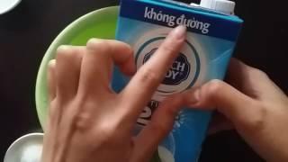 Cách làm kem đơn giản với sữa tươi ♡