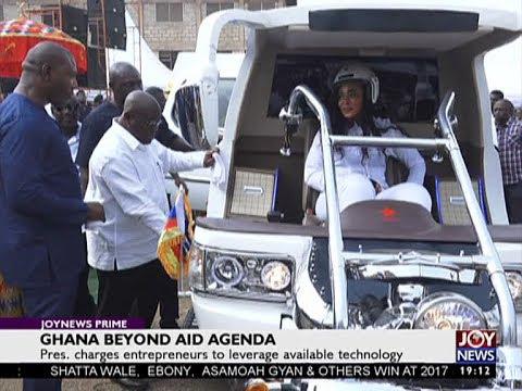 Ghana Beyond Aid Agenda - Joy News Prime (1-1-18)