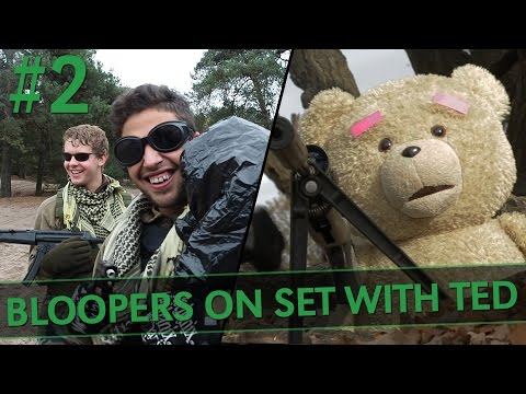 TED AND THE TRIPLE KILL | Making Off + Bloopers
