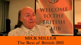 Best of British 2015 - Mick Miller with Robin Stienberg