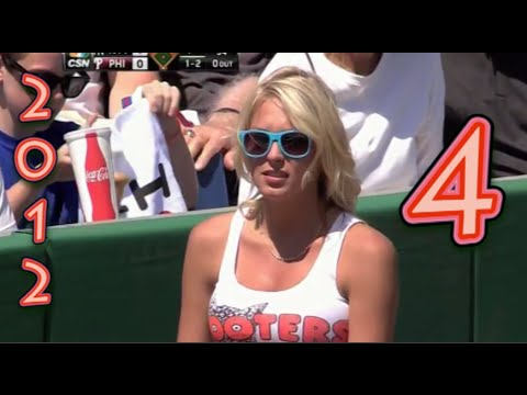 Funny Baseball Bloopers of 2012 Volume Four