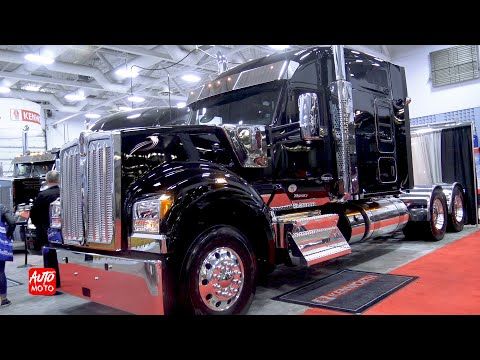 2020 Kenworth W990 76 MidRoof 500hp Cummins X15 Exterior And Interior ATS 2019