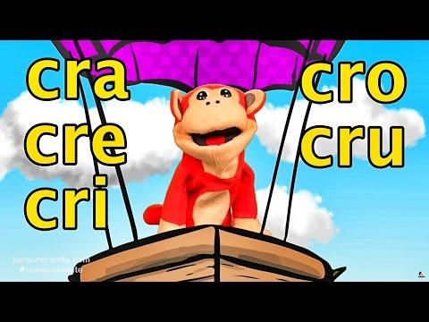 Xxx Mp4 Sílabas Cra Cre Cri Cro Cru El Mono Sílabo Videos Infantiles Educación Para Niños 3gp Sex