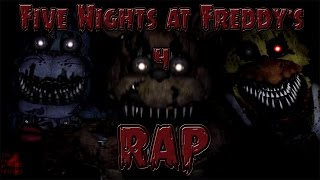 FIVE NIGHTS AT FREDDY´S 4 (FNAF 4) RAP | CarRaxX ft. Mc Energy [Prod. Jurrivh]
