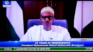 President Buhari's 55th Independence Day Speech