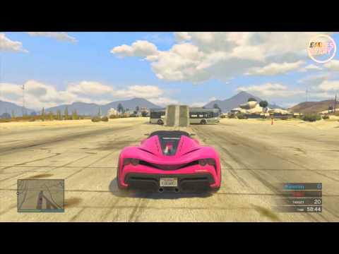 GTA 5 Funny Moments The 50 Bus Stunt Guys vs Girls In GTA 5 Ep. 2 GTA V Stunts