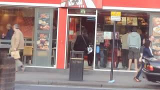 KSI Gets hyper in KFC