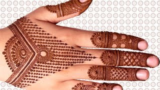Contemporary Jewelry Pattern Design Mehndi For All Occasions