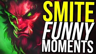 CERNUNNOS IS THE GOD OF PENETRATION! - SMITE FUNNY MOMENTS