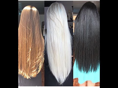 12 Girls Playing with Their Very LONG HAIR!