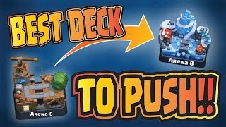 Best F2P Deck For Arena 6 - Arena 8! --- PART 1 --- Clash Royale