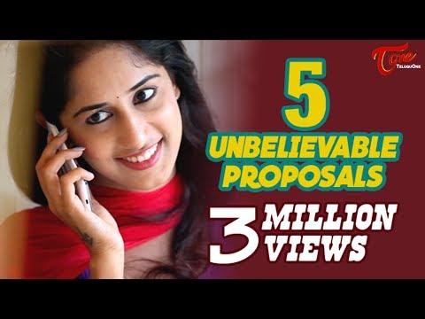 5 Unbelievable Proposals   Latest Tamil Short Film 2016   By Chakradhar Reddy B   #TamilShortFilms