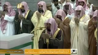 خشوع وبكاء الشيخ ماهر المعيقلي في صلاة التراويح مع الدعاء ليلة 14 1437هـ 2016 م