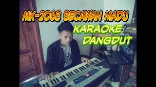 Secawan Madu karaoke Dangdut_keyboard MK-2063