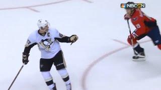 Crosby Hacks Backstrom Then Complains When he Retaliates