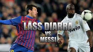 Lass Diarra Destroying Lionel Messi - Tackles & Interceptions